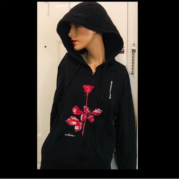 Depeche Mode Violator Hoodie M brand new Boutique